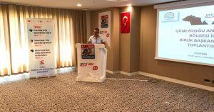 Özkan'a sığır yetiştiriciliği birliğinden plaket