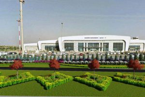 Mardin Havaalanına Protokol Yolu
