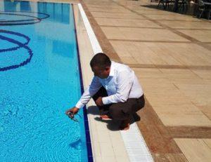Yüzme havuzları denetlendi