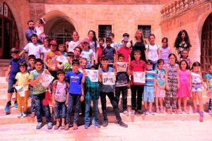 """""""Mardinmasa"""" çocuklara kenti tanıtıyor"""