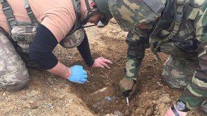 Mardin'de 1 el yapımı patlayıcı imha edildi