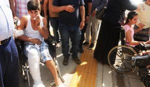 Traktör faciasında yaralananlar Mardin'e getirildi
