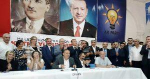 AK Parti Savur 6. Olağan Kongresi yapıldı