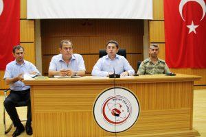 Midyat ve Nusaybin'de okul güvenlik toplantısı