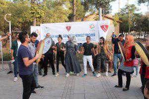 """Mardin'de """"Mobil Gençlik Merkezi"""" projesi faaliyete başladı"""