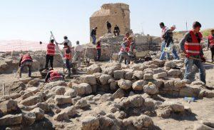 Kalede arkeolojik kazılar başladı
