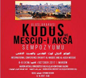 """""""Uluslararası Kudüs ve Mescid-i Aksa Sempozyumu"""" hazırlıkları tamamlandı"""