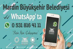 Vatandaş sorunlarını WhatsApp'tan iletecek