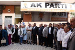 Nusaybin'de AK Parti'ye katılım