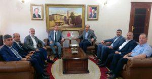 Marmara Bölge Koordinatörü Murat Yıldırım'dan Ak Parti Mardin Teşkilatı'na Ziyaret