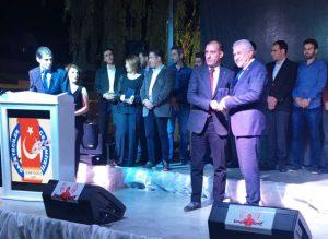 Adnan Avuka Ödülünü aldı