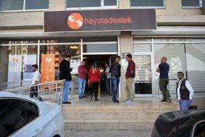 Suriyeli sığınmacılar için destek  merkezi kuruldu