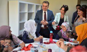 Kızıltepeli kadınlar için Sağlık Yaşam Alanı Merkezi