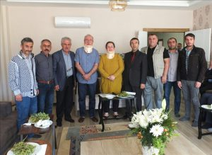 "Gazetecilerden Miroğlu'na ""Geçmiş olsun"" Ziyareti"