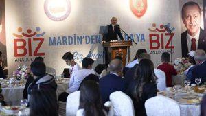 Bakan Soylu Mardinli öğrencilerle buluştu