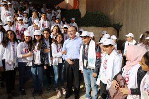 Öğrenciler İstanbul'a gezmeye gönderildi