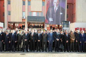 Mustafa Kemal Atatürk Anıldı
