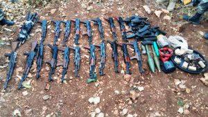 Nusaybin'de terör örgütüne ait malzemeler ele geçirildi