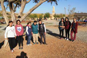 Öğrencilerin piknik sevinci