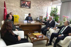 Miroğlu'ndan Yeni Sağlık Müdürü Seffet Yavuz'a Tebrik Ziyareti