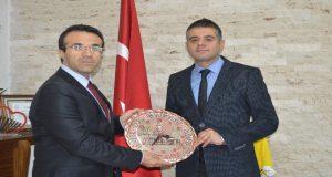 Günbegi'den Dr. Yavuz'a ziyaret