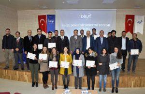 DİKA'dan ProjeYazma Eğitimi Sertifika Töreni