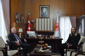 """Miroğlun'dan Bölünmez'e """"hayırlı olsun"""" ziyareti"""