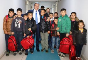 Suriyeli öğrenciler misafir edildi