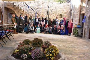 Öğrenciler Mardin sokakları ve tarihi Mardin'i öğreniyor