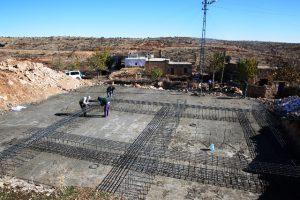 Köylere taziye evleri yapılıyor