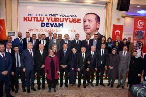 Ak Parti Artuklu Murat Bayar'a emanet