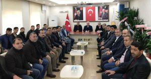Ak Parti Mardin il başkanı Nihat Eri'ye büyük ilgi