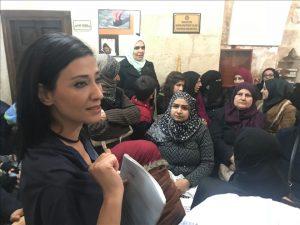 Suriyeli kadınlar ÇATOM'da söz sahibi