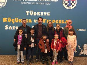 Nazlı Demir Satrançta Türkiye 2.cisi