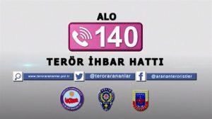 """Mardin Emniyeti """"Alo 140 Terör İhbar Hattı""""nı tanıttı"""