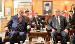 TBMM başkanı Kahraman Mardin'de