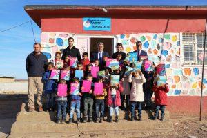 Millî Eğitim Müdüründen Kırsaldaki okullara ziyaret
