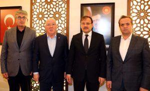 TGK heyeti, Başbakan Yardımcısına basının acil sorunlarını iletti