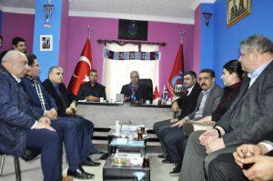 Eri'den Kızıltepe Trabzonspor Taraftarlar Derneğine Ziyaret