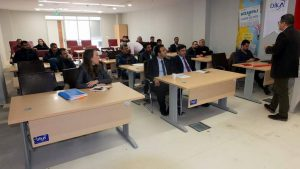 """Mardin'de """"Mizanpaj ve Haber Teknikleri"""" eğitimi başladı"""