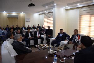 Nusaybin'de OSB toplantısı