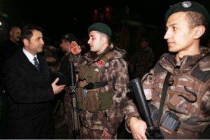Özel harekat polisleri Dualarla Afrin'e uğurlandı