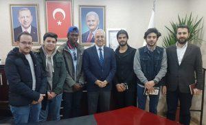 Üniversitenin yabancı öğrencilerinden Eri'ye ziyaret