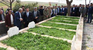 PKK'lı teröristlerce katledilen 8 kişi anıldı