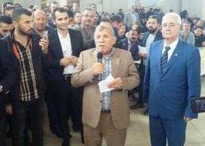 CHP Heyeti Kızıltepe'de çiftçilerle bir araya geldi