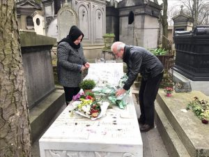 Miroğlu'ndan Paris'te Kaya ve Güney'in mezarlarına ziyaret