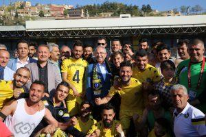 Büyükşehir Belediye Spor Mutlu Sona Ulaştı