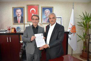 Süleyman Çelik AK Parti'den aday adayı