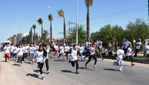 Gençlik koşusuna yoğun ilgi