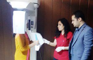 Ağız ve Diş Sağlığı Merkezinde Panoramik Röntgen Cihazı yenilendi